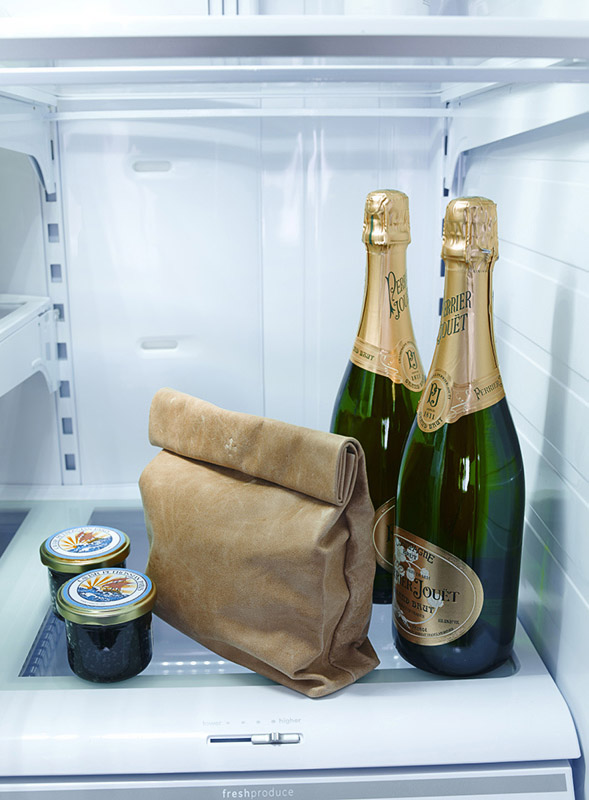 More luxurious than your office fridge, if not, is your company hiring? Marie Turnor Lunch Bag Clutch