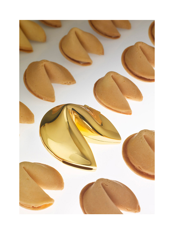 Golden Fortune Cookie