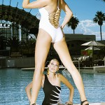 Swimsuit fashion at Daylight pool, Mandalay Bay. Photo by FrancisX2